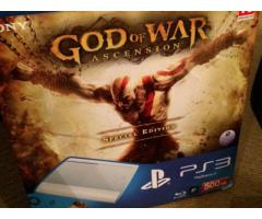 Special edition white 'God of War' PS3 + all the bits