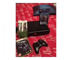 For sale Xbox 360 with games