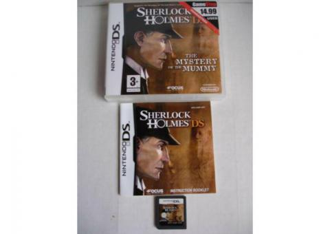 Im selling two X Nintendo DS Video Games Sherlock Holmes.