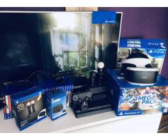For Sale - PlayStation 4 slim 1TB With VR and 28 Games Like New.