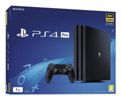 For sale Ps4 pro brand new unopened - €400.